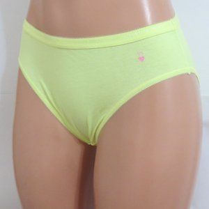 Victoria's Secret Panties High Leg Brief Neon Lime